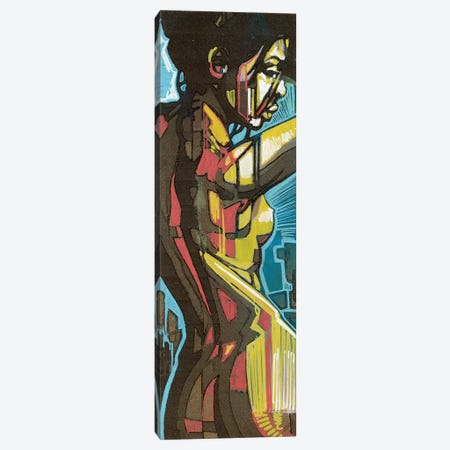 Golden Skin Canvas Print #FMO43} by Fernan Mora Canvas Art Print