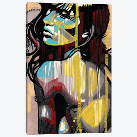 Golden Tan Canvas Print #FMO44} by Fernan Mora Canvas Art