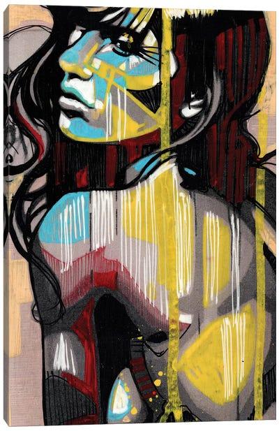 Golden Tan Canvas Art Print
