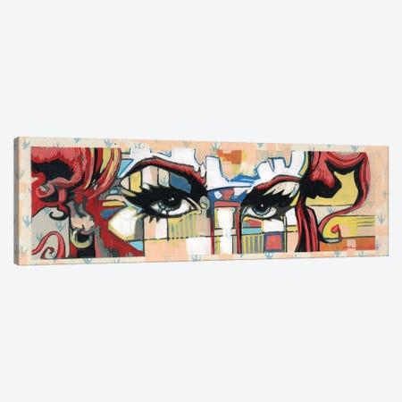 Red Curls Canvas Print #FMO46} by Fernan Mora Canvas Art