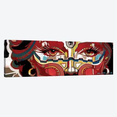 Scarlet Mascarade Canvas Print #FMO48} by Fernan Mora Art Print