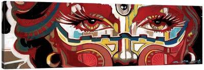 Scarlet Mascarade Canvas Art Print