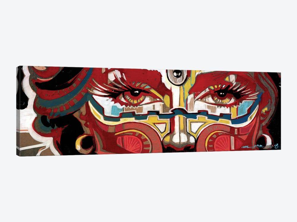 Scarlet Mascarade by Fernan Mora 1-piece Art Print