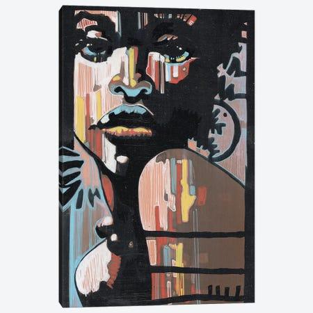 Jazz In The Dark Canvas Print #FMO50} by Fernan Mora Canvas Art