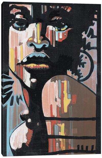 Jazz In The Dark Canvas Art Print