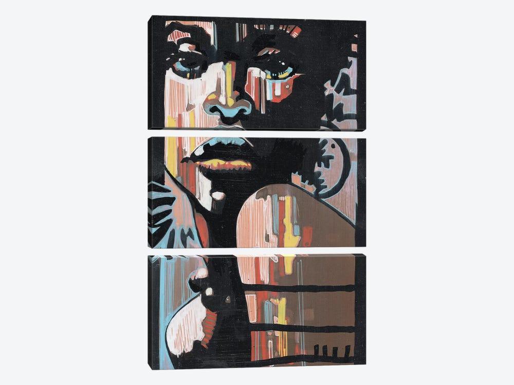 Jazz In The Dark by Fernan Mora 3-piece Canvas Artwork