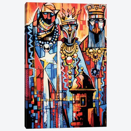 3 Wise Men Canvas Print #FMO52} by Fernan Mora Canvas Wall Art