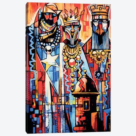 3 Wise Men Canvas Print #FMO52} by Fernan Mora Canvas Wall Art