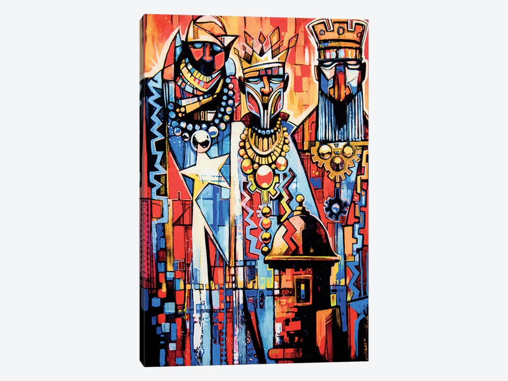3 Wise Men by Fernan Mora 1-piece Canvas Artwork