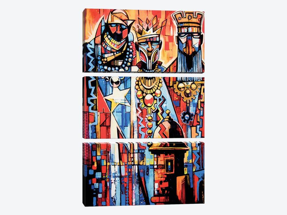 3 Wise Men by Fernan Mora 3-piece Canvas Wall Art