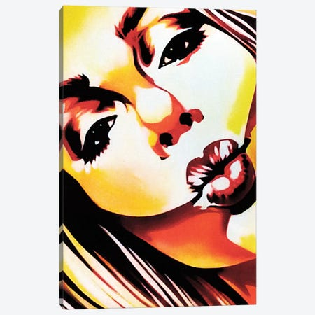 Angels Kiss Canvas Print #FMO53} by Fernan Mora Canvas Art