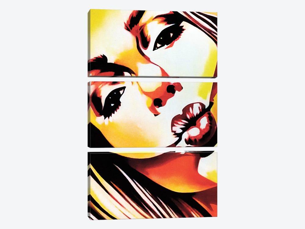 Angels Kiss by Fernan Mora 3-piece Canvas Art Print
