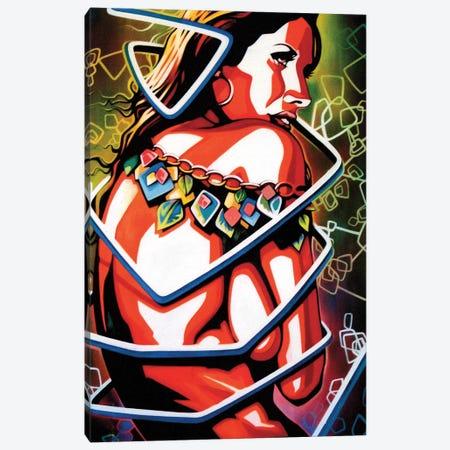 Birthday Suit Canvas Print #FMO57} by Fernan Mora Canvas Art Print