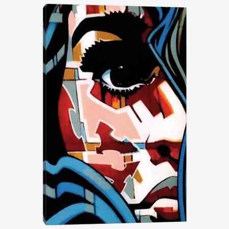 Blue Theory 3-Piece Canvas #FMO58} by Fernan Mora Canvas Wall Art
