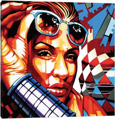 Chela Lee Canvas Art Print