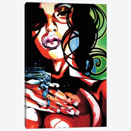 Diptic Love Canvas Print #FMO62} by Fernan Mora Canvas Print