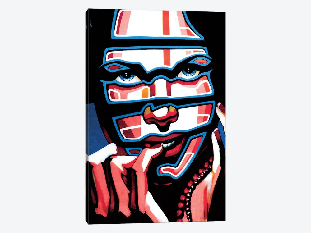 Electric Masacarade by Fernan Mora 1-piece Canvas Artwork