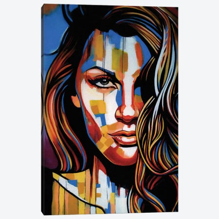 Guess Canvas Print #FMO65} by Fernan Mora Canvas Art