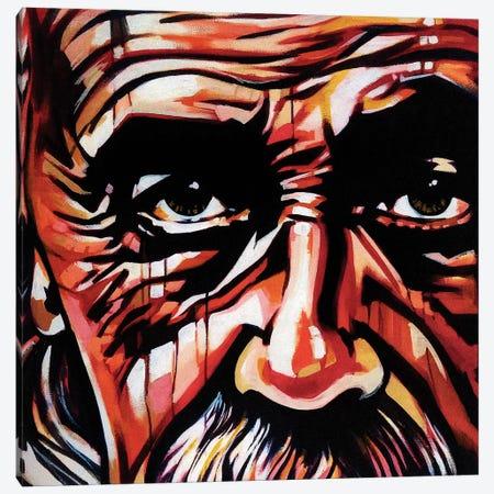 Imagination Trumps Knowledge Canvas Print #FMO66} by Fernan Mora Canvas Wall Art
