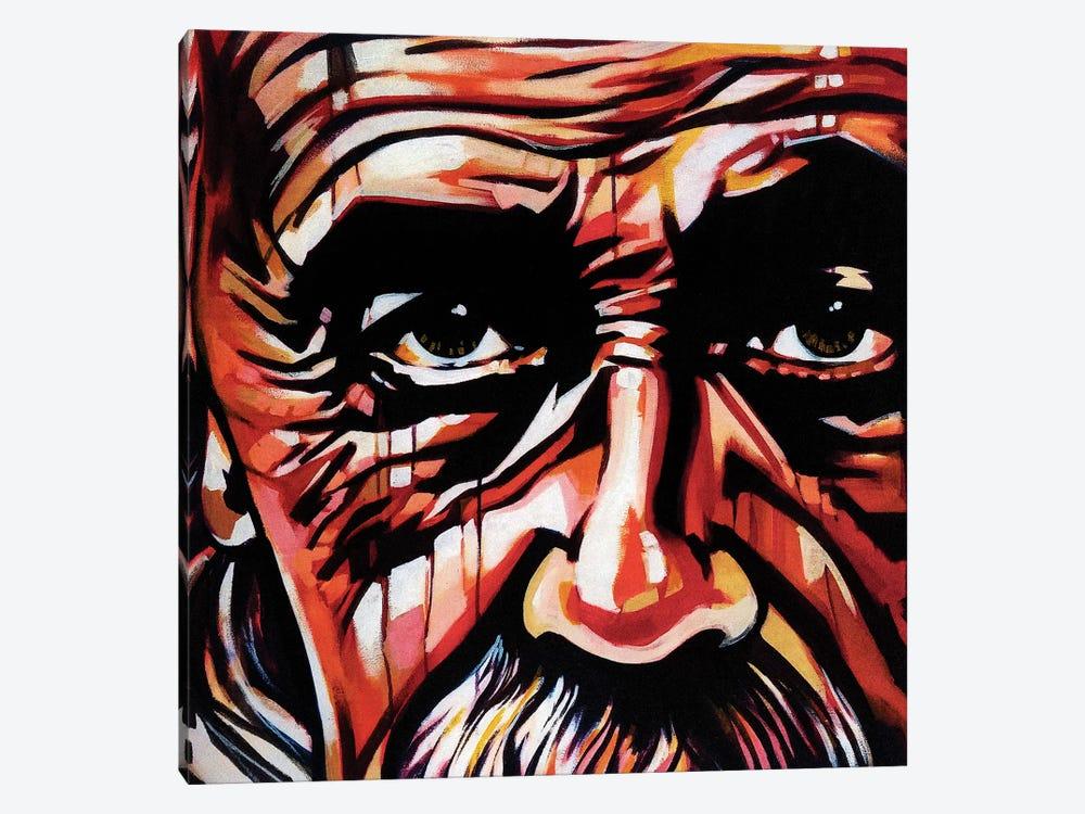 Imagination Trumps Knowledge by Fernan Mora 1-piece Canvas Print