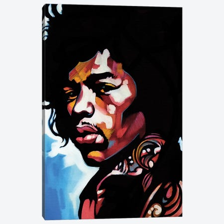 Jimmi Canvas Print #FMO70} by Fernan Mora Canvas Wall Art