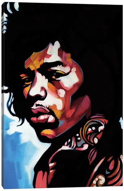 Jimmi Canvas Art Print