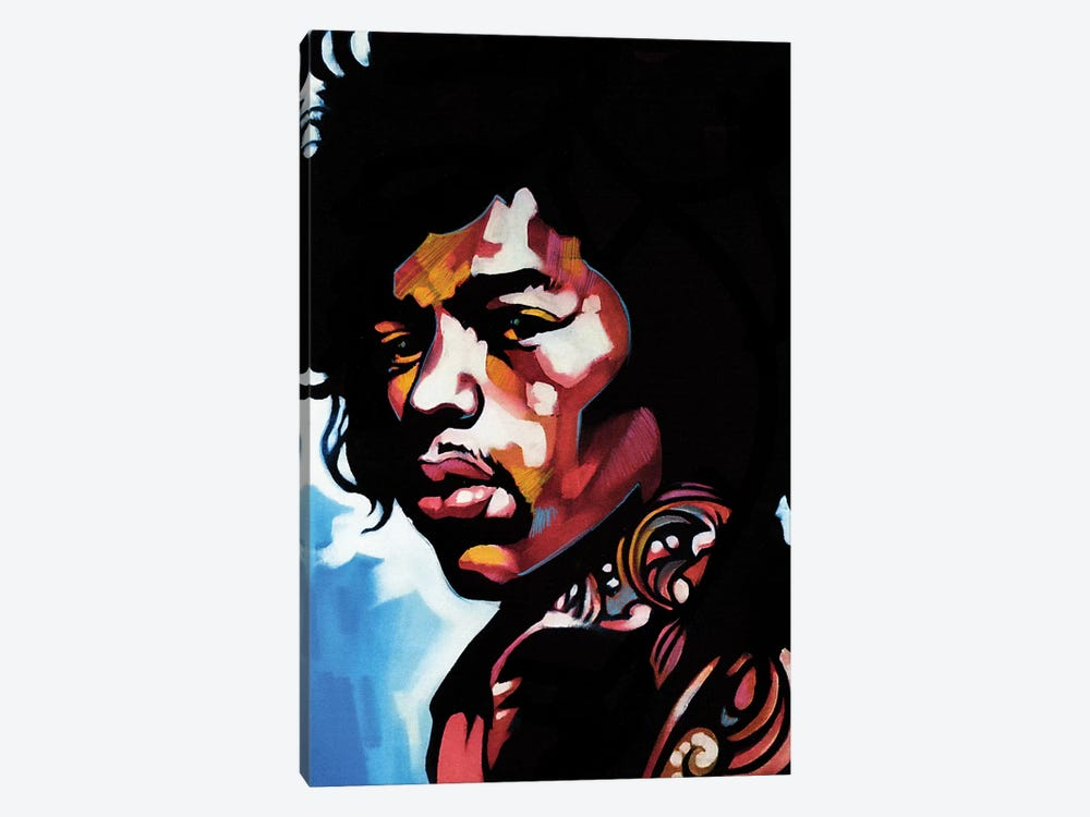 Jimmi by Fernan Mora 1-piece Canvas Artwork