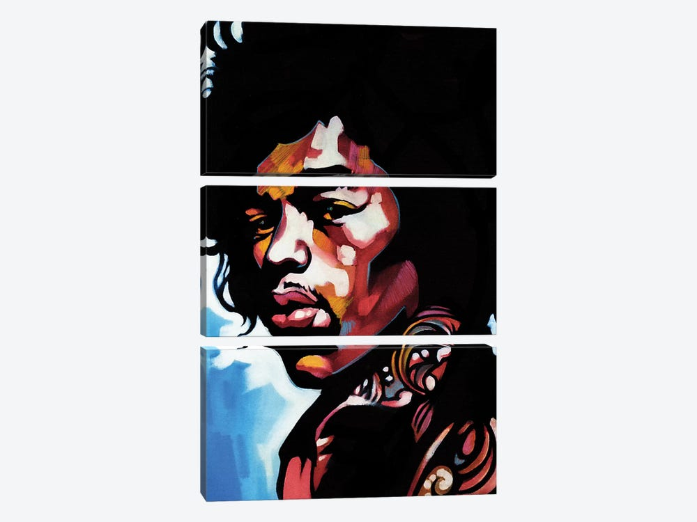 Jimmi by Fernan Mora 3-piece Canvas Wall Art