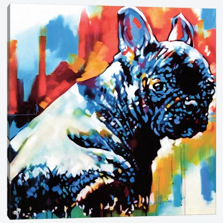 Just Poop Canvas Print #FMO71} by Fernan Mora Canvas Artwork