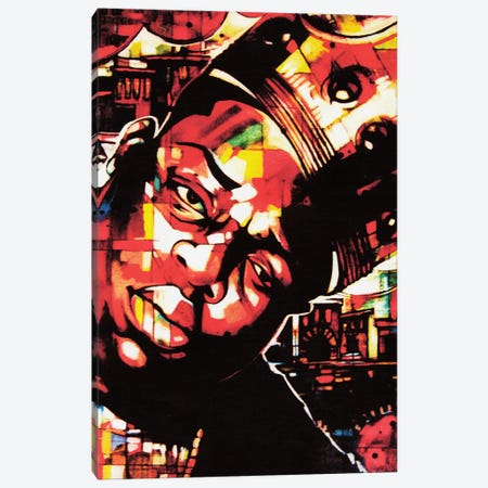 Long Live Da King Canvas Print #FMO73} by Fernan Mora Canvas Art