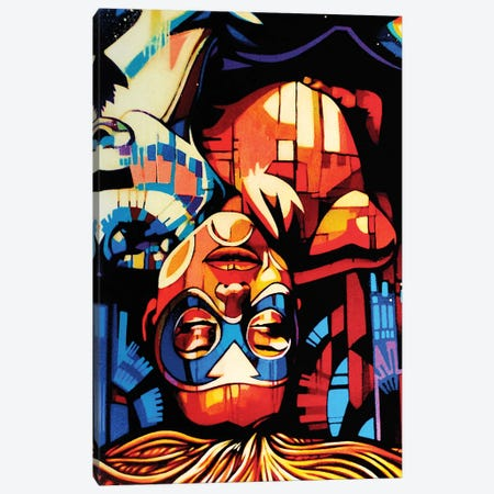 Madness Canvas Print #FMO75} by Fernan Mora Art Print