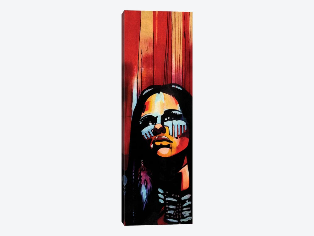 Native Queen by Fernan Mora 1-piece Art Print