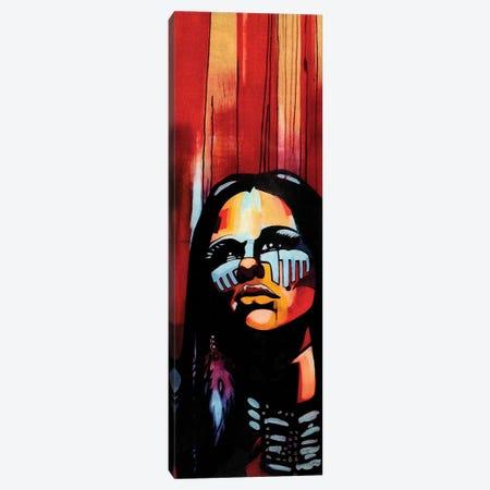 Native Queen Canvas Print #FMO79} by Fernan Mora Canvas Wall Art