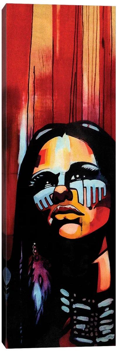 Native Queen Canvas Art Print