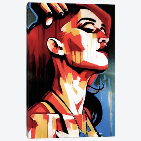 Queen 401 Canvas Print #FMO84} by Fernan Mora Canvas Artwork