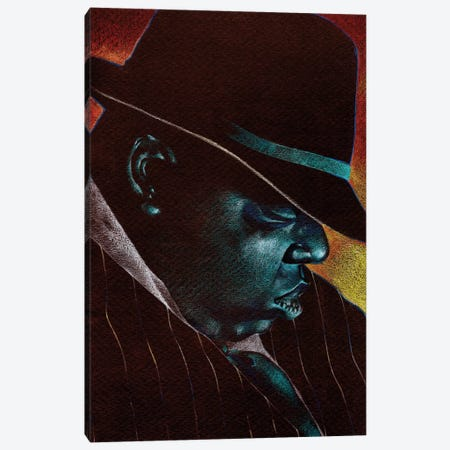 Big Poppa Canvas Print #FMO96} by Fernan Mora Art Print