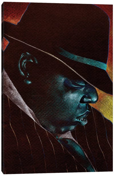 Big Poppa Canvas Art Print