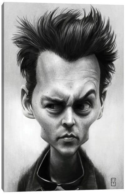 Johnny Depp Canvas Art Print