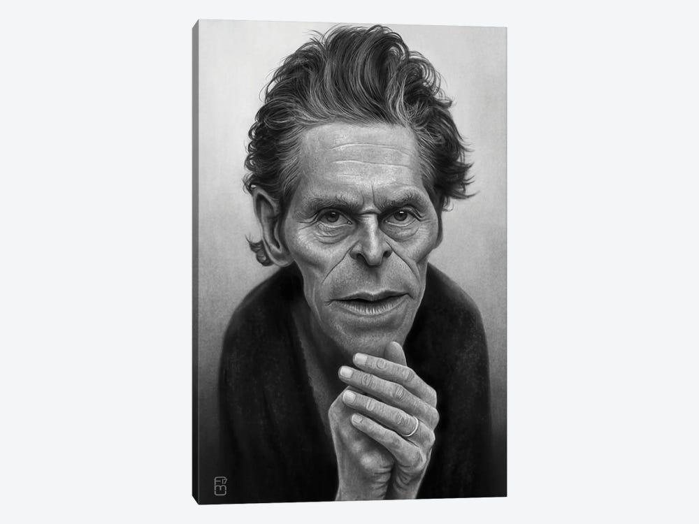 Willem Dafoe by Fernando Méndez 1-piece Art Print