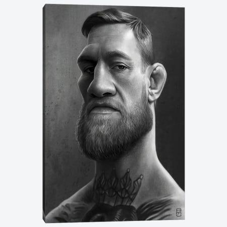 Conor McGregor Canvas Print #FMZ22} by Fernando Méndez Canvas Artwork