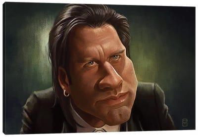 John Travolta Canvas Art Print