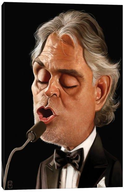 Andrea Bocelli Canvas Art Print