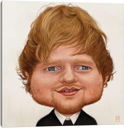 Ed Sheeran Canvas Art Print
