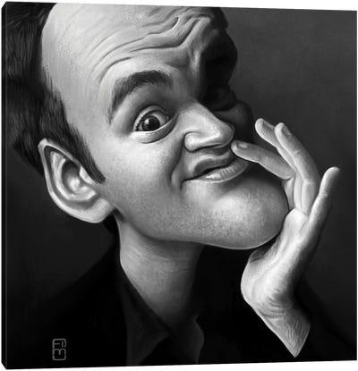Quentin Tarantino. Canvas Art Print