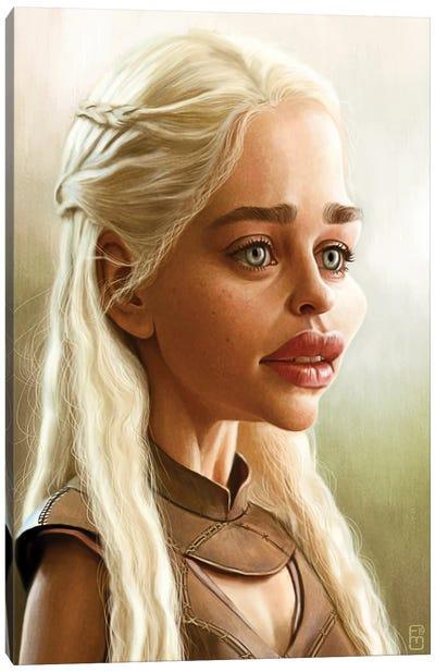Emilia Clarke Canvas Art Print