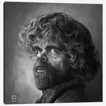 Peter Dinklage GOT Canvas Print #FMZ60} by Fernando Méndez Canvas Artwork