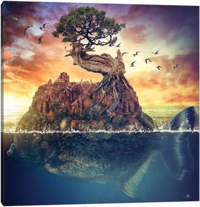Surreal Fish Canvas Art Print