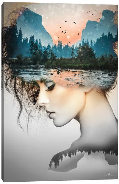 Woman IV Canvas Art Print
