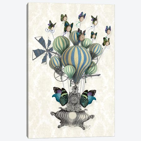 Flutter Time Canvas Print #FNK1049} by Fab Funky Art Print
