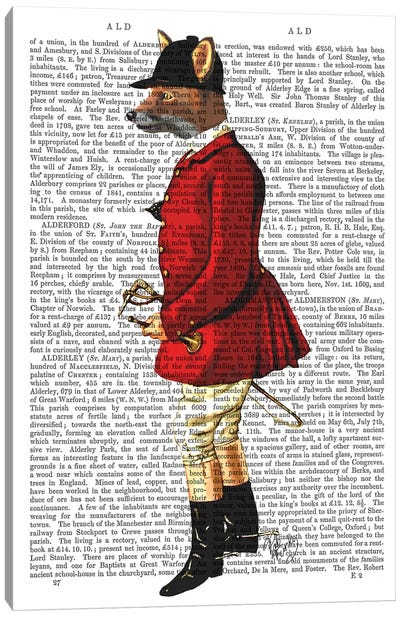 Fox Hunter I Canvas Art Print